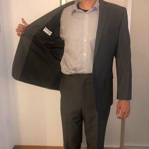 Macy's men's store Calvin Klein suit